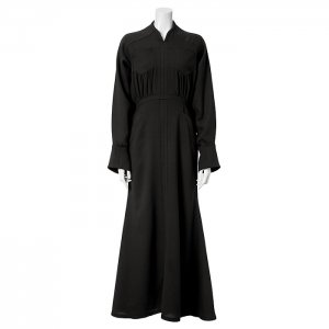 <img class='new_mark_img1' src='https://img.shop-pro.jp/img/new/icons1.gif' style='border:none;display:inline;margin:0px;padding:0px;width:auto;' />Mame Kurogouchi マメ クロゴウチ Wool Georgette Flare Dress