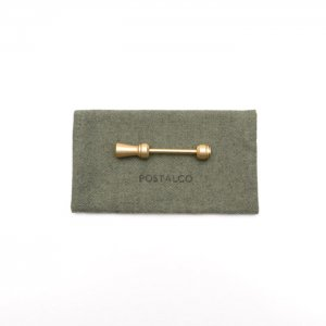 POSTALCO ポスタルコ Tall Totem Key Holder /BS 96701 Brass