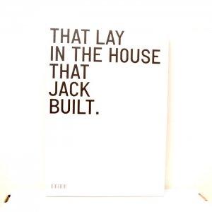 Maja Hoffmann(マヤ・ホフマン)『THIS IS THE HOUSE THAT JACK BUILT』Steidl(シュタイデル)