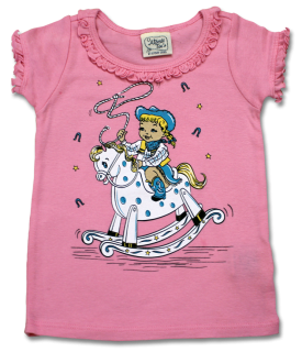 Little Cowgirl Infant Ruffle Tee