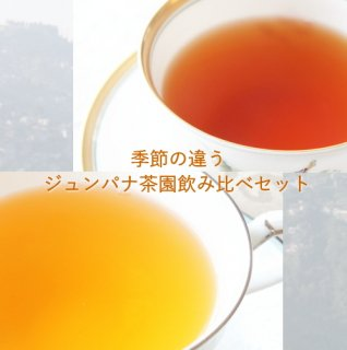 ダージリン 季節の違う ジュンパナ茶園 飲み比べセット リーフティー 20g+40g