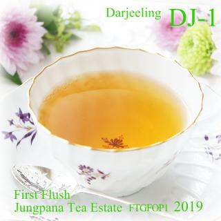 紅茶 ダージリン DJ-1 ファーストフラッシュ ジュンパナ茶園 2019 FTGFOP1 40g リーフティー 茶葉