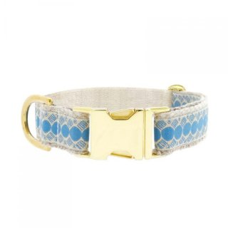 You're A Stud Collar, Cream & Lake Blue (ユア・スタッド・カラー, クリーム & レイクブルー)
