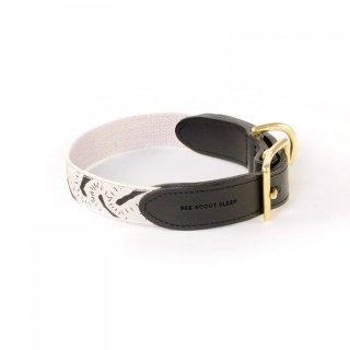 Life Of The Party Leather Collar, Cream & Black (ライフ・オブ・ザ・パーティ・レザーカラー, クリーム & ブラック)
