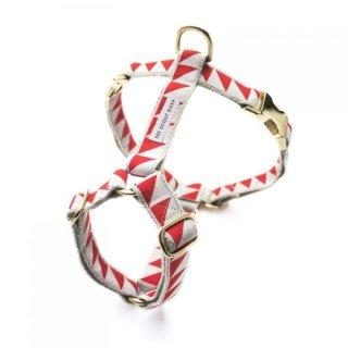 Nice Grill Harness, Cream & Vermillion (ナイス・グリル・ハーネス, クリーム & バーミリオン)