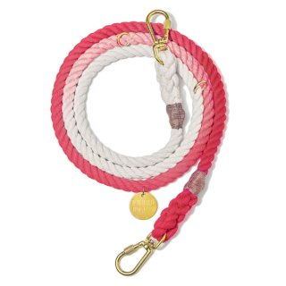 <img class='new_mark_img1' src='//img.shop-pro.jp/img/new/icons39.gif' style='border:none;display:inline;margin:0px;padding:0px;width:auto;' />Coral Ombre Rope Dog Leash, Adjustable (コーラル・オンブレ・ロープ・ドッグ・リーシュ, アジャスタブル)