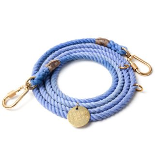 <img class='new_mark_img1' src='//img.shop-pro.jp/img/new/icons39.gif' style='border:none;display:inline;margin:0px;padding:0px;width:auto;' />Periwinkle Rope Dog Leash, Adjustable (パーウィンクル・ロープ・ドッグ・リーシュ, アジャスタブル)
