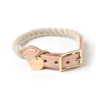 <img class='new_mark_img1' src='//img.shop-pro.jp/img/new/icons34.gif' style='border:none;display:inline;margin:0px;padding:0px;width:auto;' />Jute Rope Cat & Dog Collar (ジュート・ロープ・キャット & ドッグ・カラー)