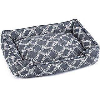 Crosby Charcoal Premium Cotton Blend Lounge Bed(クロスビー・チャコール・プレミアム・コットン・ブレンド・ラウンジ・ベッド)