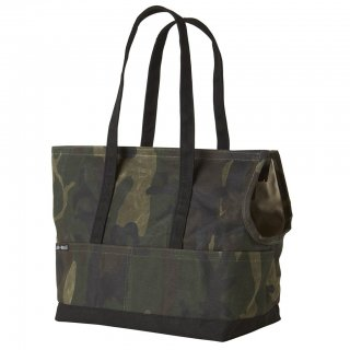 <img class='new_mark_img1' src='//img.shop-pro.jp/img/new/icons14.gif' style='border:none;display:inline;margin:0px;padding:0px;width:auto;' />Waxed Canvas Pet Tote Camo & Black(ワックスド・キャンバス・ペット・トート ,カモ&ブラック)