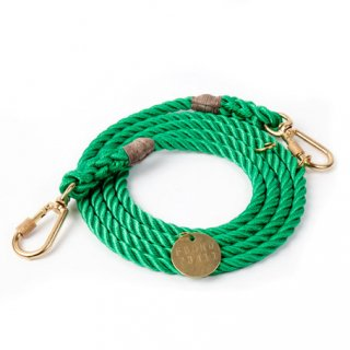 <img class='new_mark_img1' src='//img.shop-pro.jp/img/new/icons39.gif' style='border:none;display:inline;margin:0px;padding:0px;width:auto;' />Miami Green Rope Dog Leash, Adjustable (マイアミ・グリーン・ロープ・ドッグ・リーシュ, アジャスタブル)