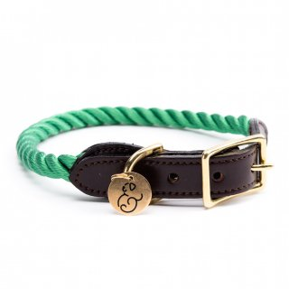 <img class='new_mark_img1' src='//img.shop-pro.jp/img/new/icons14.gif' style='border:none;display:inline;margin:0px;padding:0px;width:auto;' />Miami Green Rope Cat & Dog Collar (マイアミ・グリーン・ロープ・キャット & ドッグ・カラー)