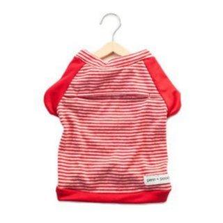 the babe - candy cane stripe(ベイブ・キャンディ・ケイン・ストライプ・Tシャツ)