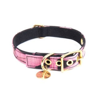 <img class='new_mark_img1' src='//img.shop-pro.jp/img/new/icons34.gif' style='border:none;display:inline;margin:0px;padding:0px;width:auto;' />Vintage Geometric Canvas Cat & Dog Collar(ビンテージ・ジオメトリック・キャンバス・キャット & ドッグ・カラー)