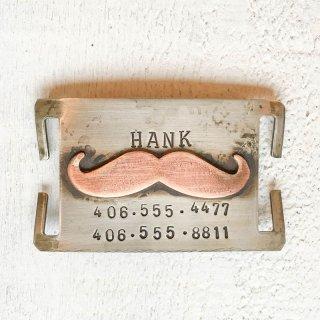 Mustache Pet Collar Tag (マスターシュ・ペットカラータグ)