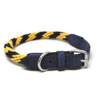 Corde Collar, Stripes Yellow (コルド・カラー, ストライプイエロー)