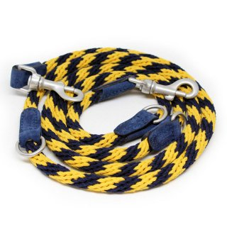 <img class='new_mark_img1' src='https://img.shop-pro.jp/img/new/icons57.gif' style='border:none;display:inline;margin:0px;padding:0px;width:auto;' />Corde Leash, Stripes Yellow, Ajustable (コルド・リーシュ, ストライプイエロー, アジャスタブル)