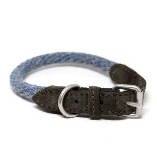 Corde Wool Collar, Blue Melange (コルド・ウール・カラー, ブルーメレンゲ)