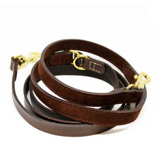 <img class='new_mark_img1' src='https://img.shop-pro.jp/img/new/icons57.gif' style='border:none;display:inline;margin:0px;padding:0px;width:auto;' />Tennis Vintage Leash, Chocolate, Ajustable (テニス・ヴィンテージ・リーシュ, チョコレート, アジャスタブル)