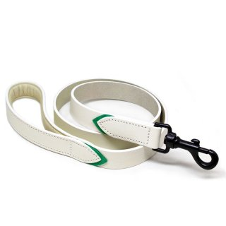 <img class='new_mark_img1' src='//img.shop-pro.jp/img/new/icons57.gif' style='border:none;display:inline;margin:0px;padding:0px;width:auto;' />Tennis Colors Leash, White & Green (テニス・カラーズ・リーシュ, ホワイト & グリーン)