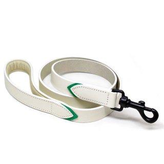 Tennis Colors Leash, White & Green (テニス・カラーズ・リーシュ, ホワイト & グリーン)