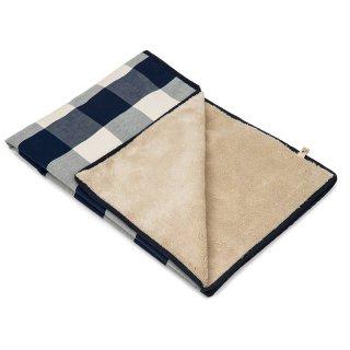 Buffalo Check Navy Blanket (バッファロー・チェック・ネイビー・ブランケット)