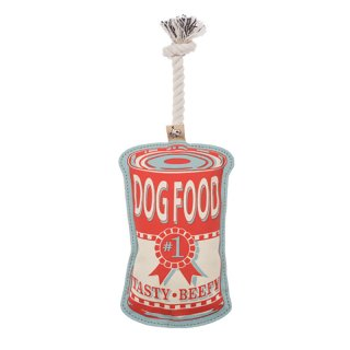 Dog Food Can Rope Toy (ドッグ・フード・カン・ロープトイ)