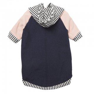Bamboo Knit Fleece Hoodie - Navy (バンブー・ニット・フリース・フーディー - ネイビー)