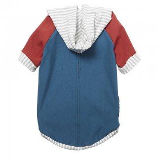 Bamboo Knit Fleece Hoodie - Teal (バンブー・ニット・フリース・フーディー - ティール)