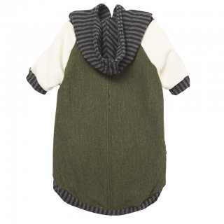 Bamboo Knit Fleece Hoodie - Olive (バンブー・ニット・フリース・フーディー - オリーブ)