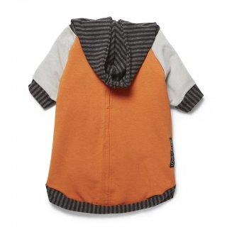 Bamboo Knit Fleece Hoodie - Orange (バンブー・ニット・フリース・フーディー - オレンジ)