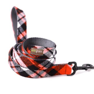 <img class='new_mark_img1' src='//img.shop-pro.jp/img/new/icons14.gif' style='border:none;display:inline;margin:0px;padding:0px;width:auto;' />Flannel Pjs Designer Dog Leash/RED (フランネル・デザイナー・リーシュ・カラー/レッド)