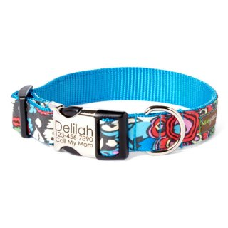 <img class='new_mark_img1' src='//img.shop-pro.jp/img/new/icons14.gif' style='border:none;display:inline;margin:0px;padding:0px;width:auto;' />Alice Designer Dog Collar (アリス・デザイナー・ドッグ・カラー)