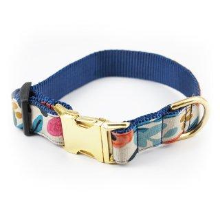 Fleur Canvas Dog Collar (フルール・キャンバス・ドッグ・カラー)