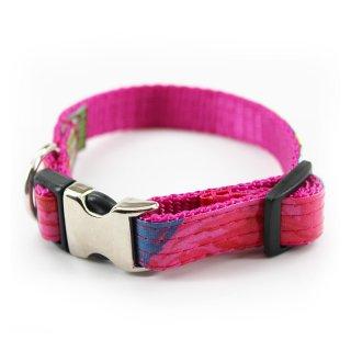 Rosey Laminated Cotton Dog Collar (ロージー・ラミネート・コットン・ドッグ・カラー)