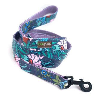 Bouquet Laminated Cotton Dog Leash (ブーケ・ラミネート・コットン・ドッグ・リーシュ)