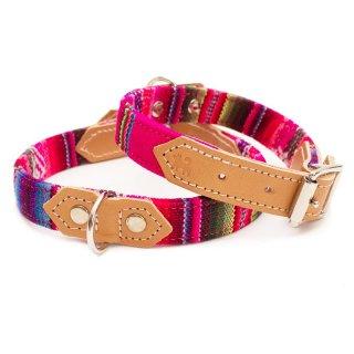 Inca Pink Dog Collar  (インカ・ピンク・ドッグ・カラー)