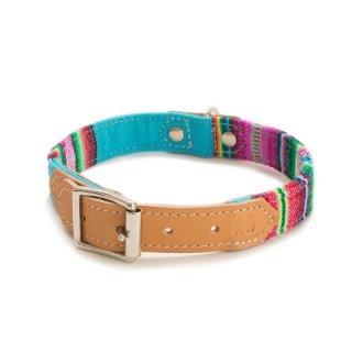 Inca Blue Dog Collar  (インカ・ブルー・ドッグ・カラー)