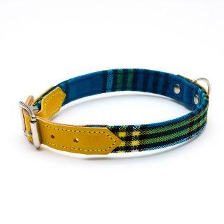 Shuka Blue Dog Collar  (シュカ・ブルー・ドッグ・カラー)