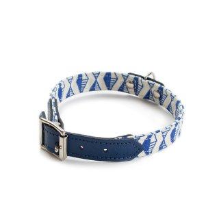 Geo Blue Dog Collar  (ゲオ・ブルー・ドッグ・カラー)