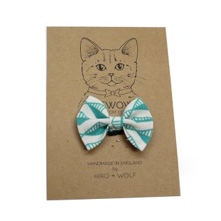 <img class='new_mark_img1' src='//img.shop-pro.jp/img/new/icons14.gif' style='border:none;display:inline;margin:0px;padding:0px;width:auto;' />Geo Green Cat BowTie  (ゲオ・グリーン・キャット・ボウタイ)