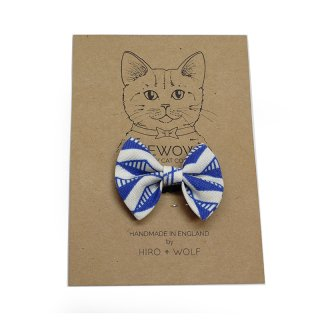<img class='new_mark_img1' src='//img.shop-pro.jp/img/new/icons14.gif' style='border:none;display:inline;margin:0px;padding:0px;width:auto;' />Geo Blue Cat BowTie  (ゲオ・ブルー・キャット・ボウタイ)