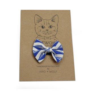 Geo Blue Cat BowTie  (ゲオ・ブルー・キャット・ボウタイ)