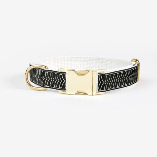 <img class='new_mark_img1' src='https://img.shop-pro.jp/img/new/icons53.gif' style='border:none;display:inline;margin:0px;padding:0px;width:auto;' />Chef L'Bark Collar,Black & Cream (シェフ・バーク・カラー, ブラック & クリーム)