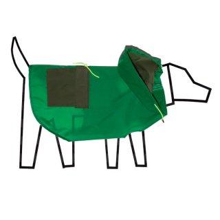 Colorblock Anorak Raincoat, Green/Olive (カラーブロック・アノラック・レインコート, グリーン/オリーブ)