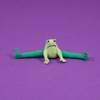 Hand Crochet Frog (ハンド・クロケット・フロッグ)