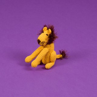 Hand Crochet Lion (ハンド・クロケット・ライオン)
