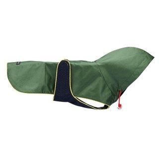Forest Green Nylon Rain Jacket (フォレスト・グリーン・キルト・ナイロン・レイン・ジャケット)