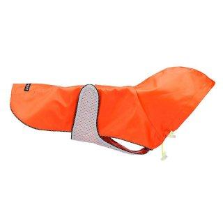 Orange Nylon Rain Jacket (オレンジ・キルト・ナイロン・レイン・ジャケット)