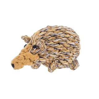 <img class='new_mark_img1' src='https://img.shop-pro.jp/img/new/icons57.gif' style='border:none;display:inline;margin:0px;padding:0px;width:auto;' />Hedgehog Rope Toy (ヘッジホッグ・ロープ・トイ)